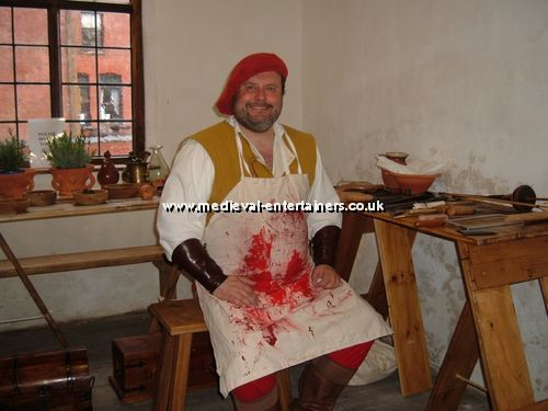 Medieval Barber Surgeon
